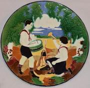 блюдо пионеры конаково 1930 годы