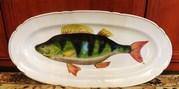 блюдо рыба фабрики гарднера императорского фарфора