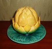 масленка ананас императорского фарфора м с кузнецова