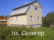 2-х этажный бревенчатый дом (коттедж) на оз. Селигер,  деревня Любимка