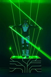 Лазерное шоу Лазермэн/Laser Man