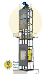 Сервисный подъемник (сервисный лифт)