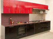 Кухонный гарнитур с фасадами из пластика