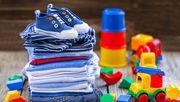 Детская одежда оптом от производителя рядами.