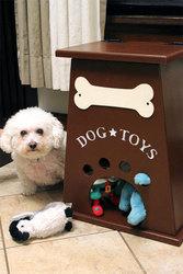 Бокс для хранения игрушек собаки