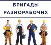 Разнорабочие на стройку,  склад,  производство
