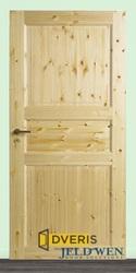 В продаже финская дверь Jeld Wen 51 сосновая,  3-х филенчатая