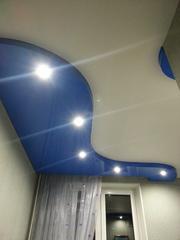 Натяжные потолки (pongs),  ремонт квартир под ключ.