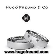 Помолвочные и обручальные кольца с бриллиантами от Hugo Freund & Co.