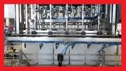 Линия розлива тосола,  антифриза,  стеклоомывающей жидкости и другой автохимии от 0, 5 до 10л.