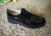туфли лакированные армейские