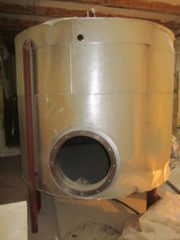 Емкость стальная — бойлер,  объем — 3, 9 куб