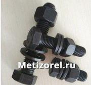 Болт ГОСТ 7795 70 М6 - М56 оцинкованный,  черный,  обычный и высокопрочный
