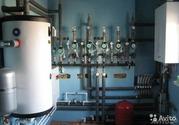 Монтаж отопления водоснабжения и канализации.