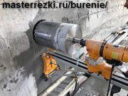 Сверление отверстий в бетонных и кирпичных стенах. Резка проёмов