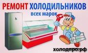 Ремонт холодильников и любой холодильной техники. Продажа бу холодильн