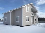 купить дом из бруса с гаражом