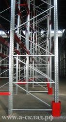Рама для стеллажа складского паллетного Производство