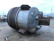 Реактор нержавеющий,  объем -10 куб.м.