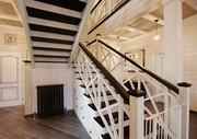 Скидка на деревянные лестницы из бука и ясеня
