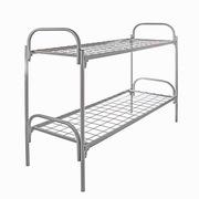 Двухъярусные и одноярусные металлические кровати для рабочих и строите