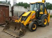 Аренда / услуги трактора экскаватора-погрузчика JCB в Раменском районе