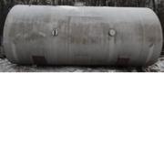 Емкость би-металлическая (внутри нержавейка),  объем -34 куб.м.