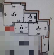 Продам 1-ую квартиру с ремонтом
