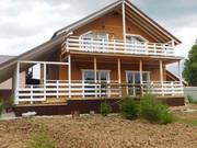Готовый дом    у озера  в обжитой деревне   с газом  Киевское Калужско