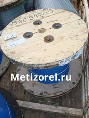 Канат авиационный ГОСТ 2172-80 оцинкованный двойной свивки типа ЛК-О