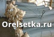 Сетка ГОСТ 5336 80 рабица плетеная для заборов оцинкованная и черная в рулонах