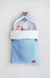 Вязаные конверты и пледы для новорожденных Loom. Москва