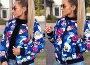 Осенне-весенняя куртка Цветочек