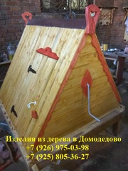 Домик для колодца / Колодезный домик