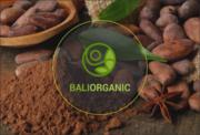 Raw Какао-бобы,  кокосовое масло,  кофе лувак с острова Бали