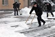 уборка снега, уборка территории