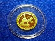 Золотая монета 50 рублей 2006 года.Монеты 18 века.Полтины и рубли.