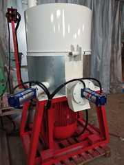 Агломератор (ПОЛУАВТОМАТ)  75 кВт,  производительность 300 кг/ч.