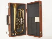 Музыкальный духовой инструмент Корнет.Другие инструменты.Антиквариат