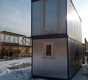 Блок контейнер для проживания рабочих