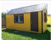Теплые,  уютные секционные домики любой площади