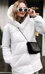 Зимняя тёплая куртка Зефирка