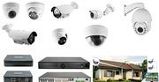 Системы видеонаблюдения,  домофоны,  видеодомофоны,  охранные сигнализаци