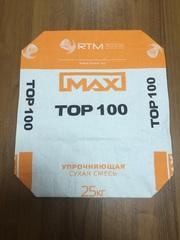 MaxTop 100. Кварцевый упрочнитель бетонной поверхности