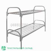 Двухъярусные и одноярусные металлические кровати