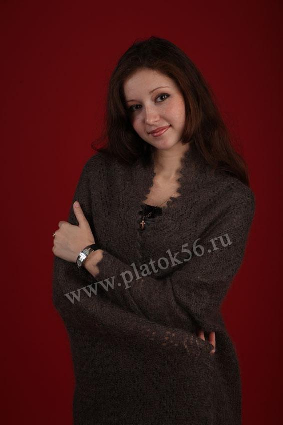 Схема для вязания на спицах пуховых оренбургских платков 18/10/2012.