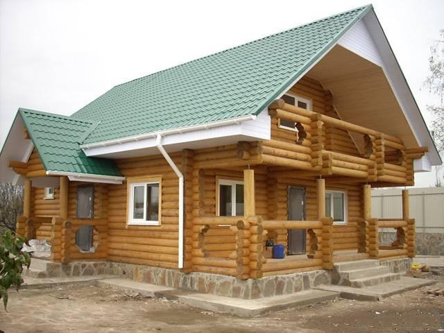 Деревянные дачные дома фото